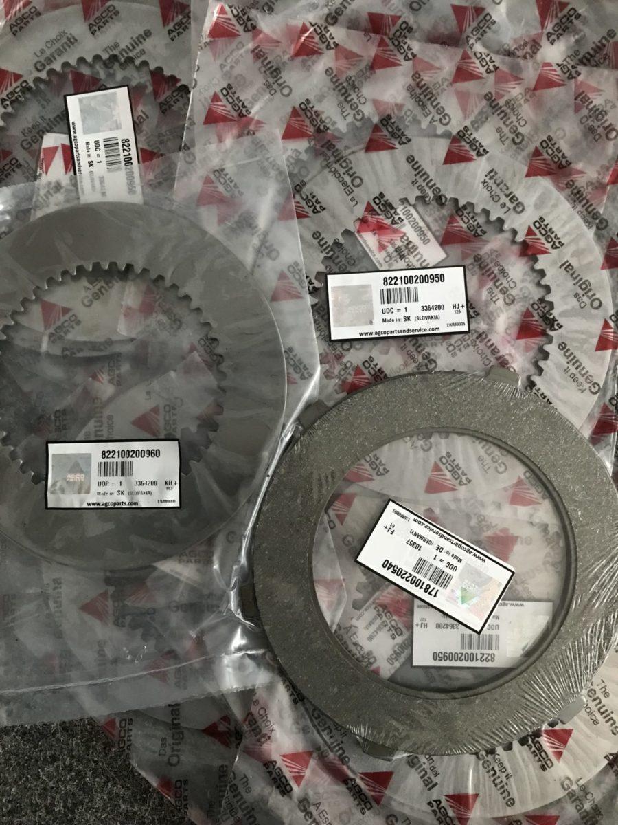 Комплект дисков ВОМ на трактор Фендт
