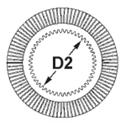 картинка_внутренний диаметр фрикционного диска