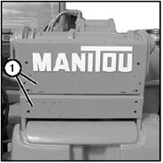 Как снять шланги стрелы погрузчика Manitou
